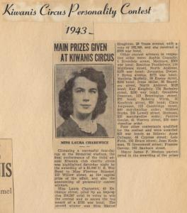 Kiwanis Contest 1943